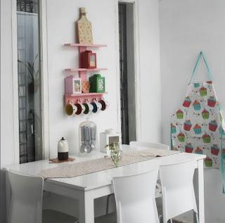 Ruang makan Minimalis Klasik