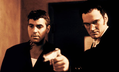 From Dusk Till Dawn 1996 movie still Robert Rodriguez Quentin Tarantino George Clooney