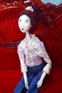 stage petite poupée articulée en cernit dolls chez cathyVagnon