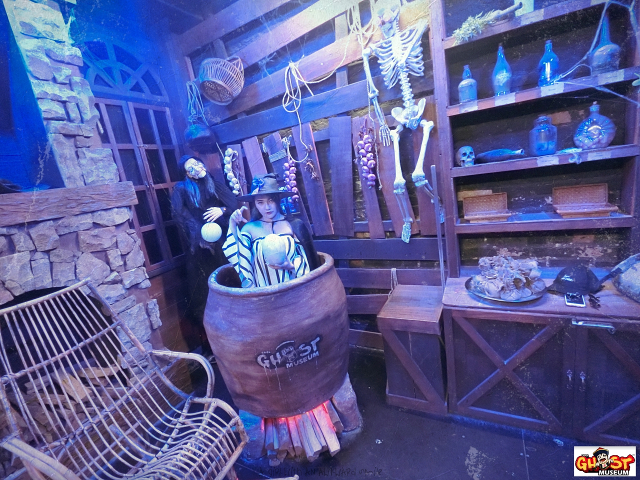 Ghost Museum @Penang :  Witch Shop