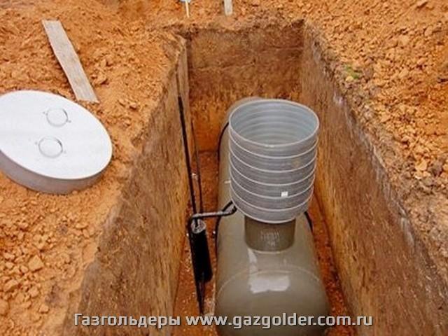 Газгольдер в Крыму