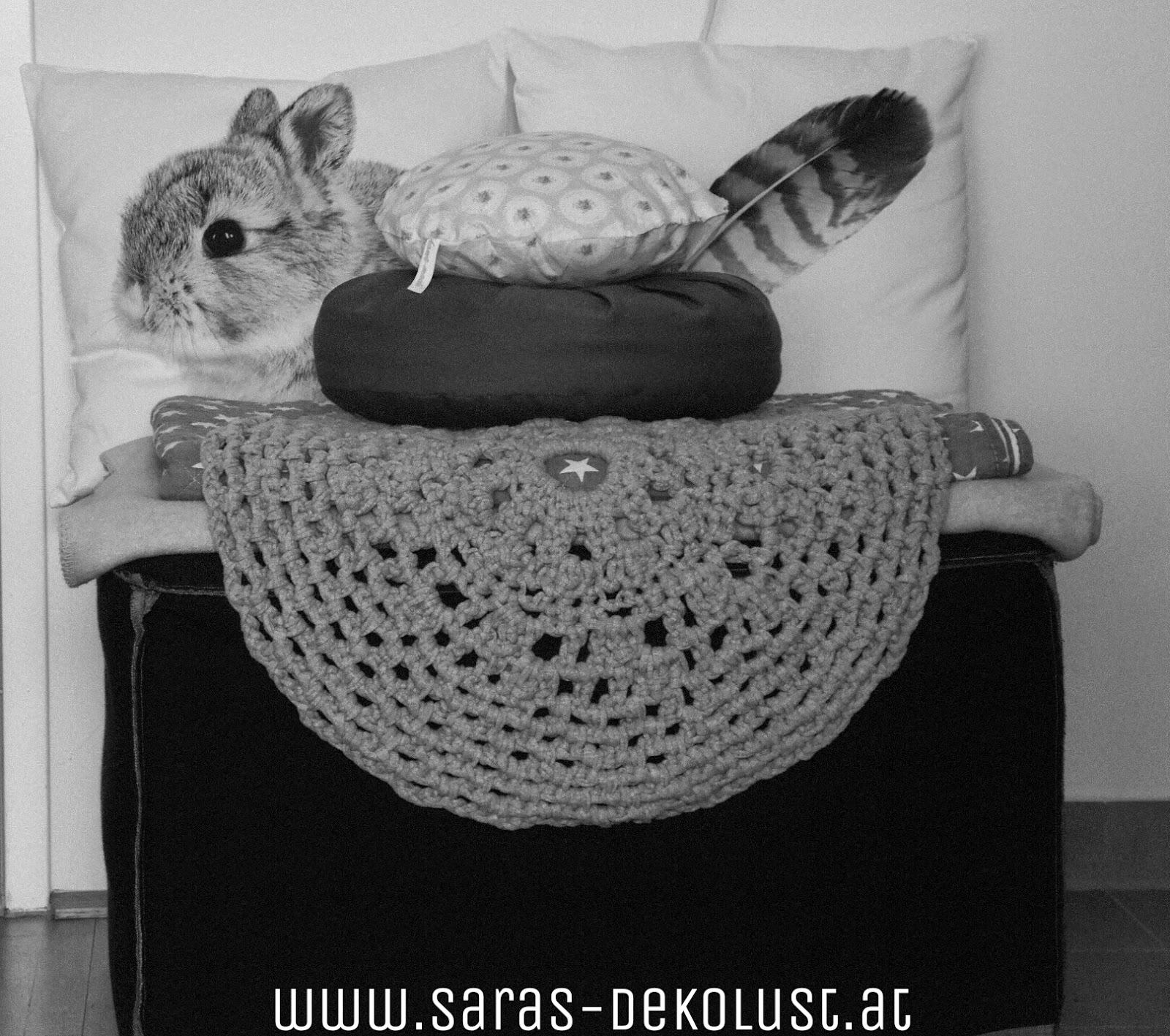 Saras Dekolust Zpagetti Teppich