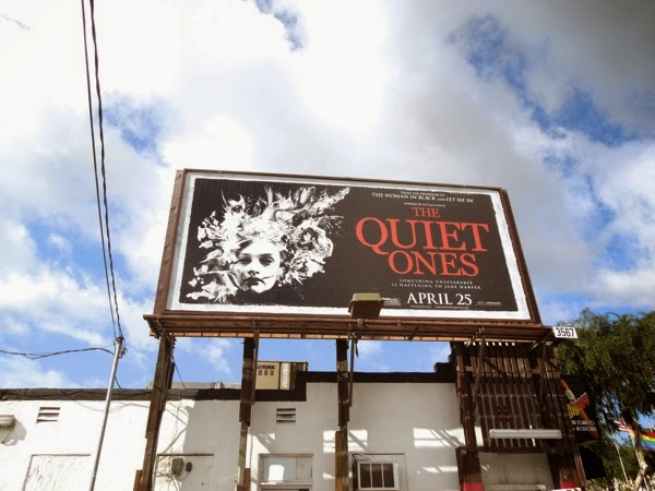 Quiet Ones movie billboard