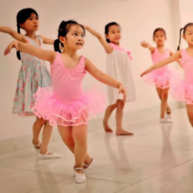 Nhóm múa, nhóm nhảy thiếu nhi