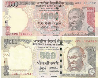 Pay Loan/ Credit Card/ Overdraft Account Dues by depositing Old Notes of Rs.500/- and Rs.1000/-