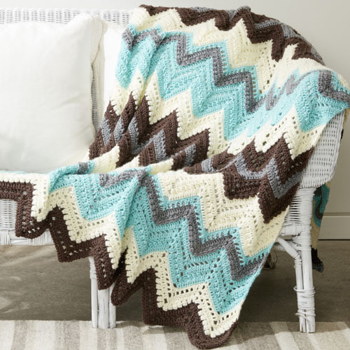 Cabin In The Woods Afghan - Free Pattern
