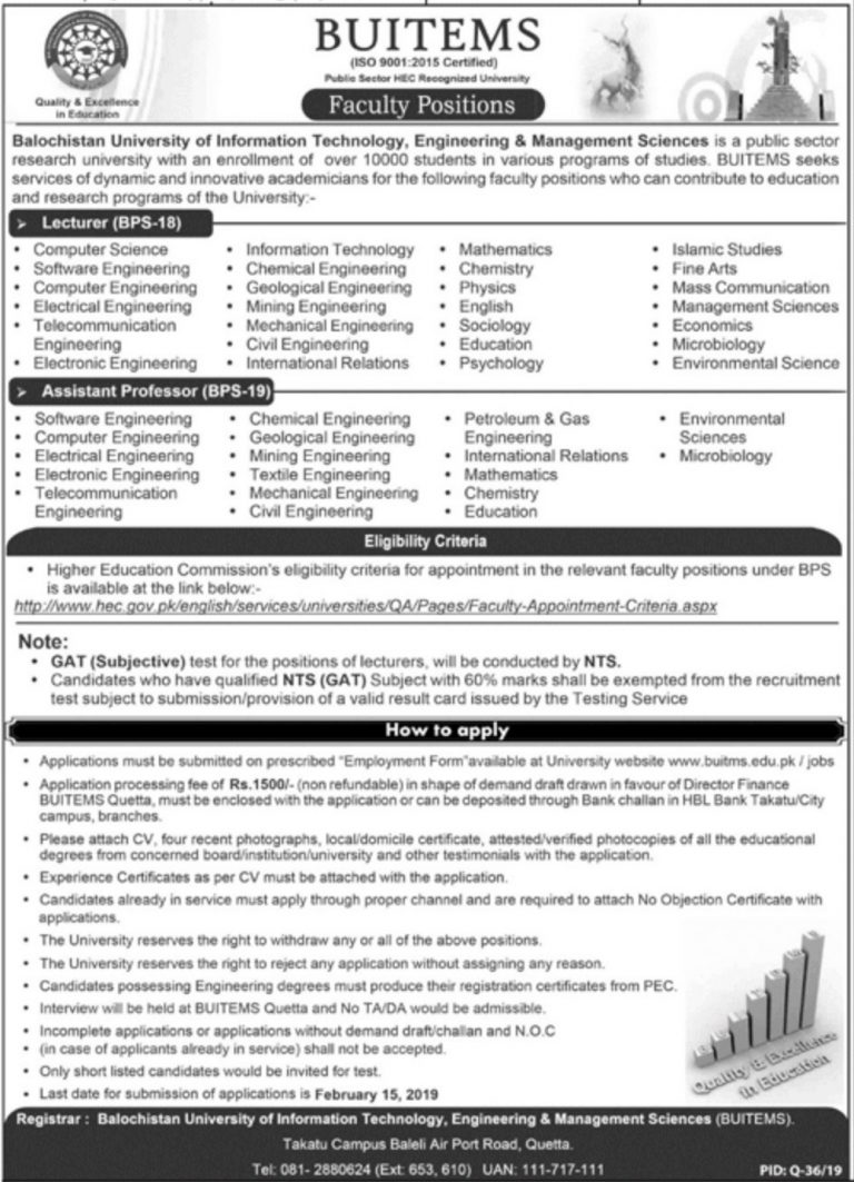 latest government jobs in pakistan 2019 - Green Jobs and News