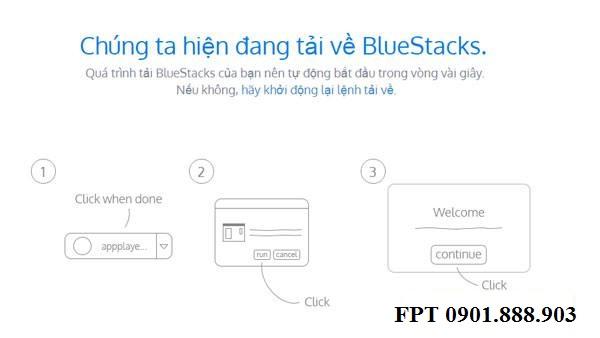 Cài Đặt Ứng Dụng BlueStack Vào Máy Tính