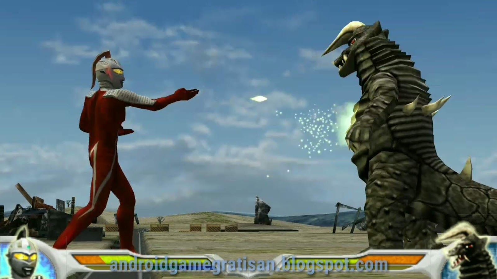 Download Game Ultraman Fighting Evolution 3 Ppsspp Android