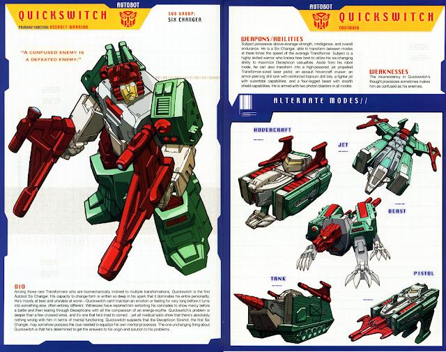 Transformer Quickswitch