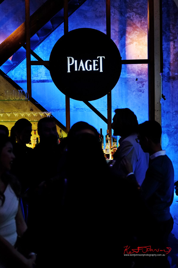 Piaget Polo S Watch Launch - Beta Bar Sydney - Photographed by Kent Johnson for Street Fashion Sydney.