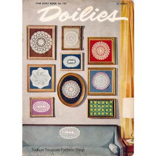 Star Doily Book 124, Vintage American Thread