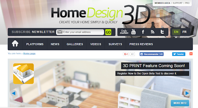 Software Desain Rumah Home Design 3D