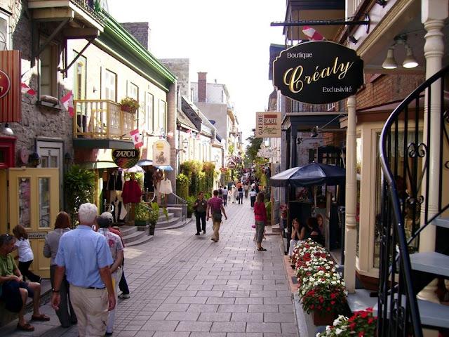 Rue Du Petit-Champlain em Quebec