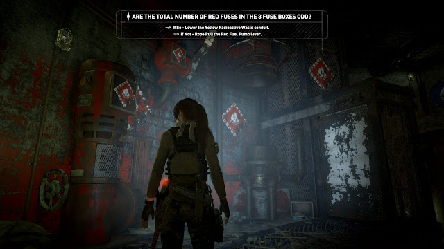 Review – Rise of the Tomb Raider, Cold Darkness Awakened pipe puzzle