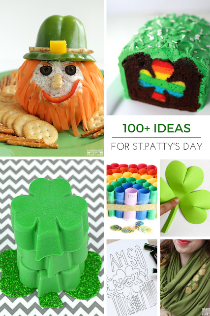 100+ creative ideas for St.Patrick's Day!