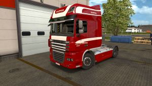 Limited Edition skin for DAF XF