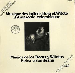Musique des Indiens Bora et Witoto d'Amazonie Colombienne