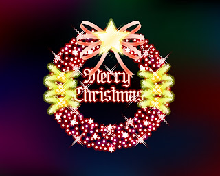 Christmas greeting background Wallpaper