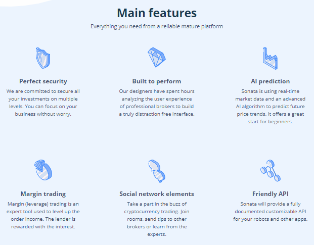 a New Generation of Crypto Exchanges That is Easy to Use for Everyone Sonata, a New Generation of Crypto Exchanges That is Easy to Use for Everyone