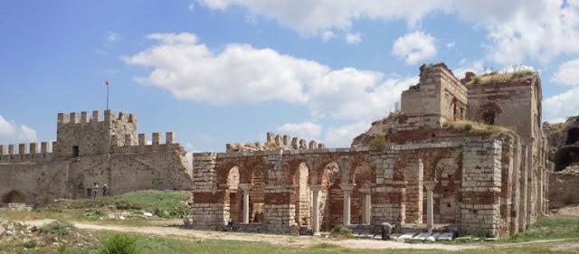 Ainos Castle, Enez