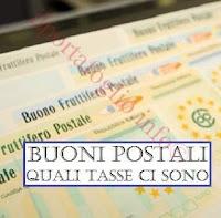 buoni postali: imposta di bollo e tassazione interessi