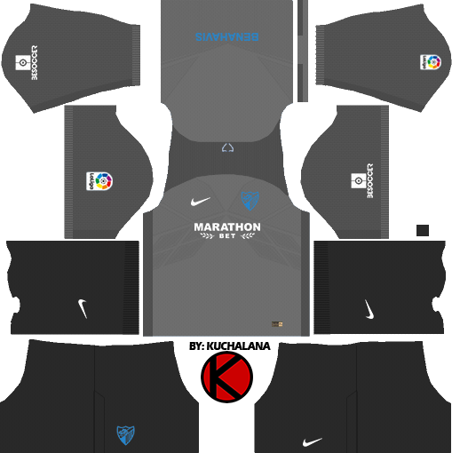 Malaga Cf 2017 18 Dream League Soccer Kits Kuchalana