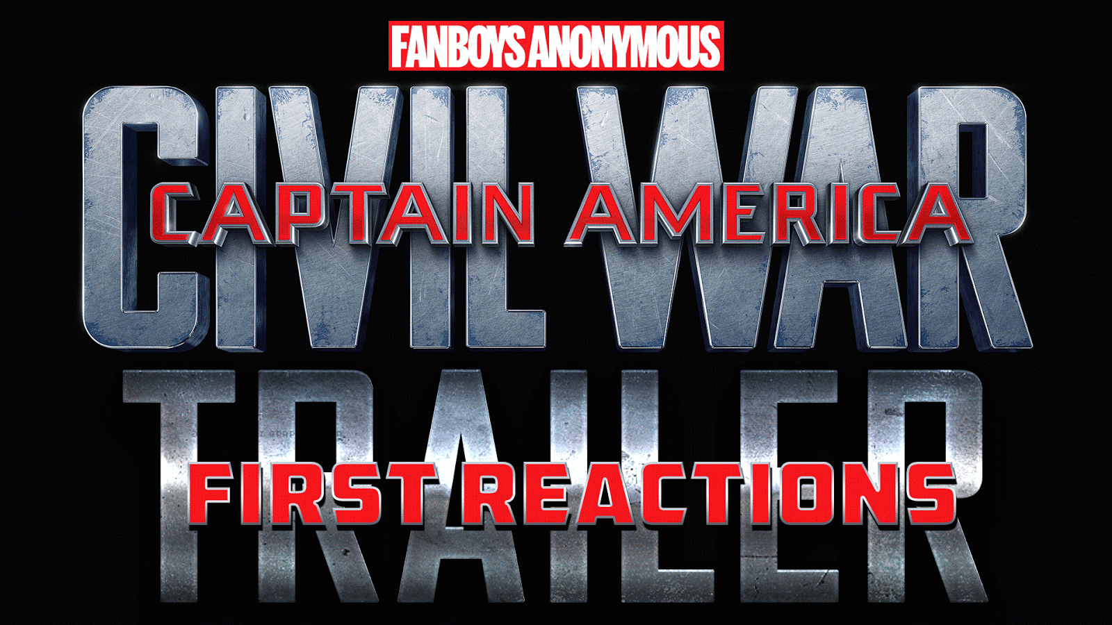 reaction to trailer for Captain America: Civil War