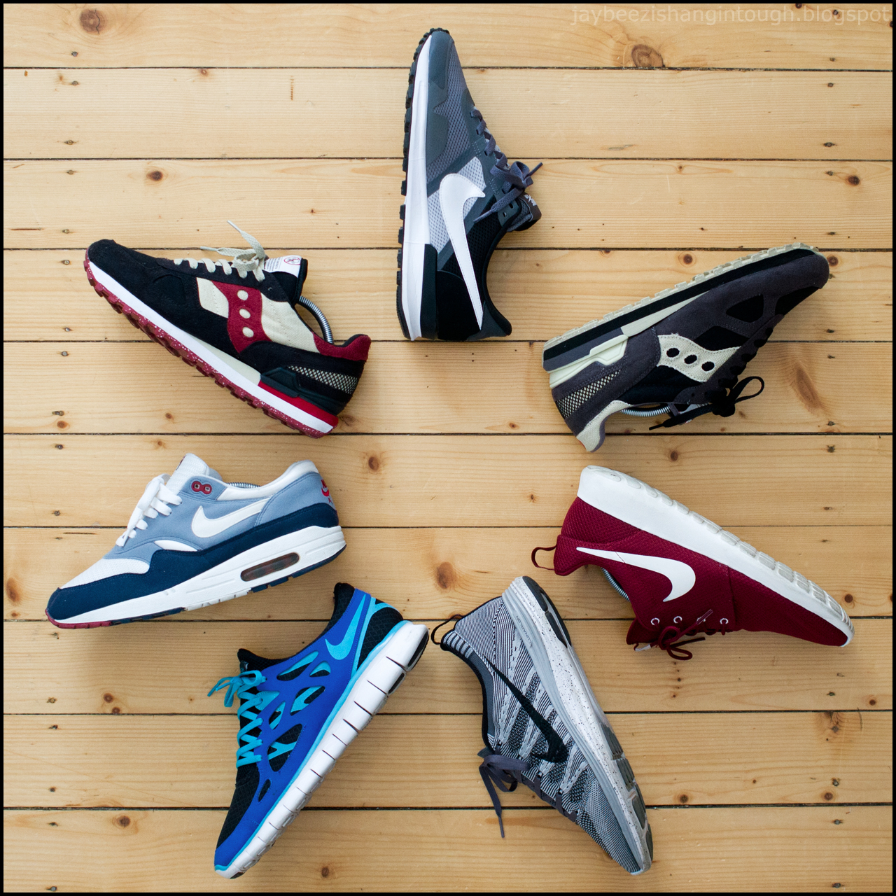 jaybeez is hangin' tough: sneaker rotation