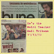 Teacher is Proud to be Weird- Mail Tribune 11/13/13