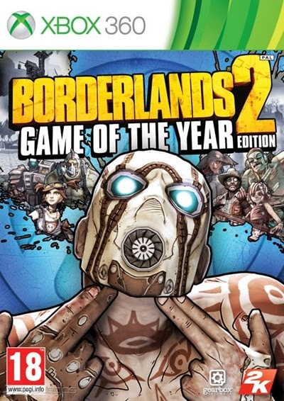 Borderlands 2 Game of the Year Edition Xbox 360 Español Región Free XGD3