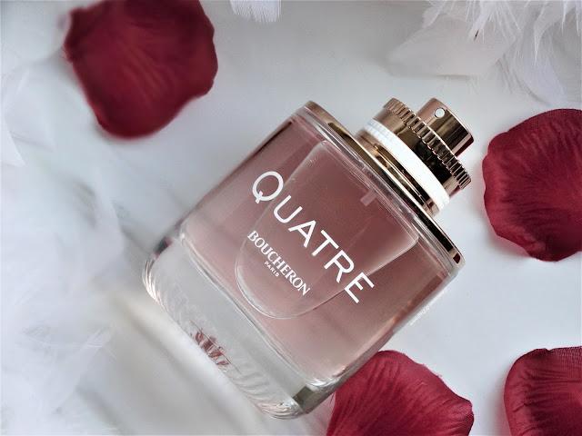 avis Quatre de Boucheron - Parfum Femme, blog parfum, perfume review, avis parfum quatre