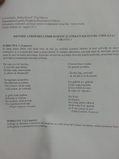 Subiecte educatori 2015 - grad didactic II Cluj