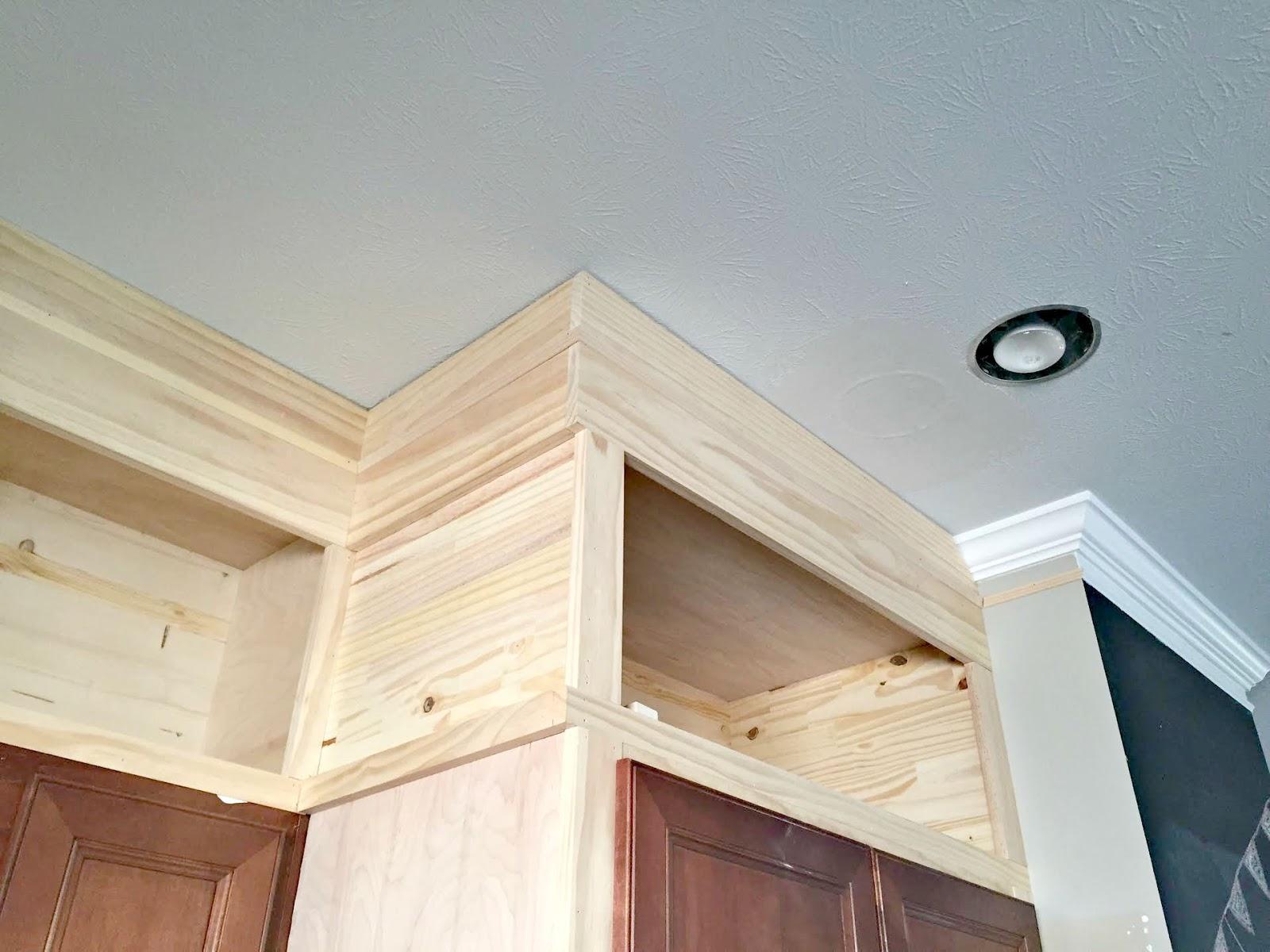 DIY enclosing fridge with cabinets
