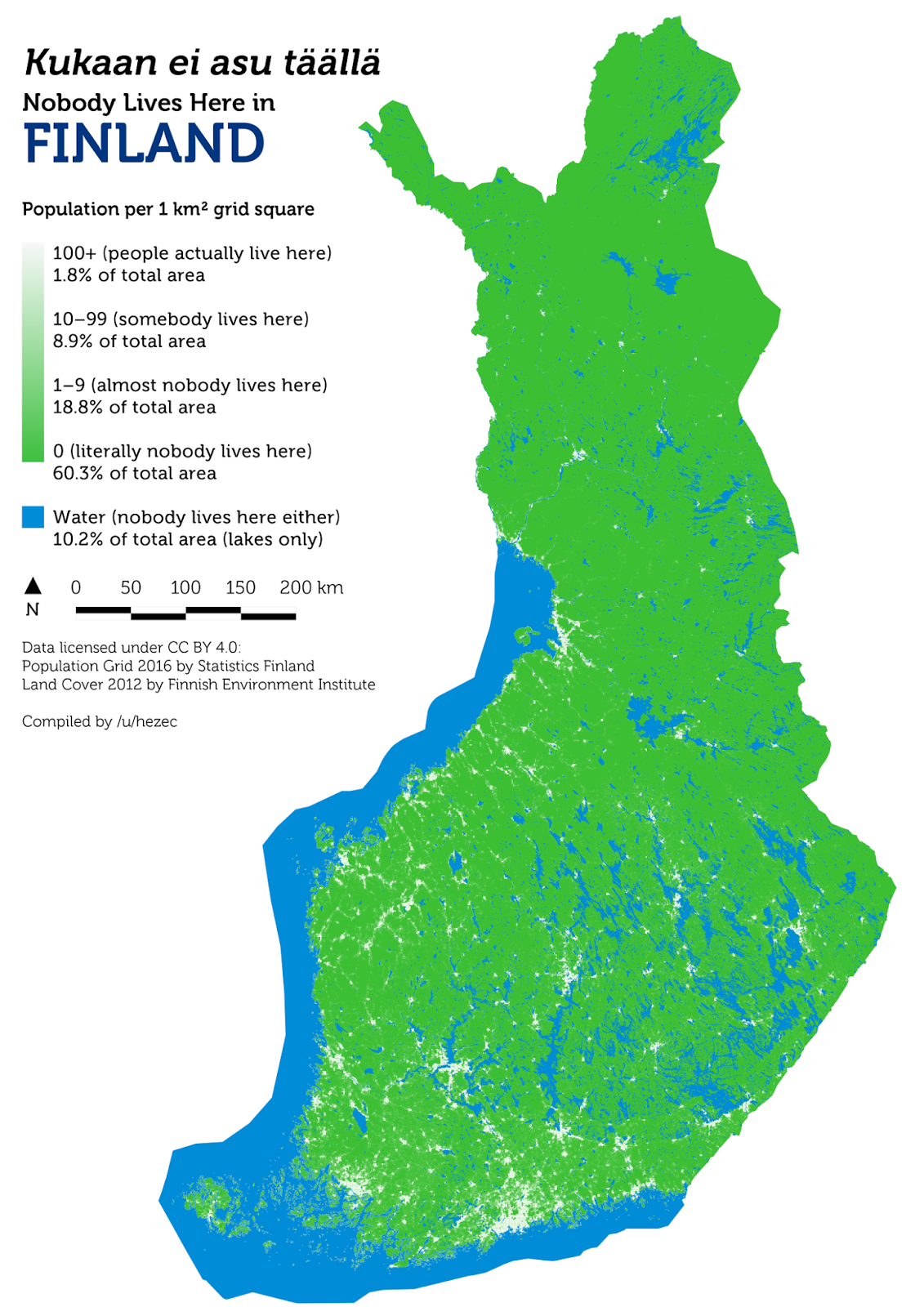 Nobody lives here in Finland