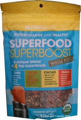 Nutribullet Superfood - Chia, Coji, Cacao, Maca