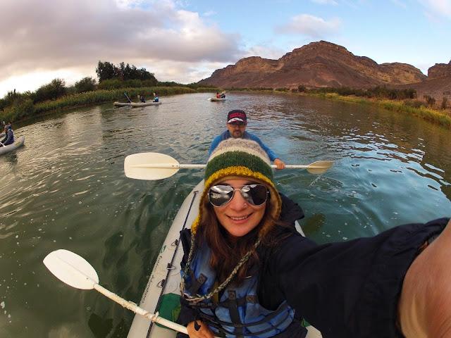 Fazer canoagem no  RIO ORANGE, uma experiência brutal! | África do Sul