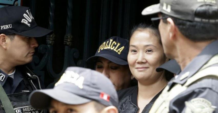 INPE: Keiko Fujimori fue recluida en el penal Anexo Mujeres de Chorrillos para cumplir 36 meses de prisión preventiva - www.inpe.gob.pe