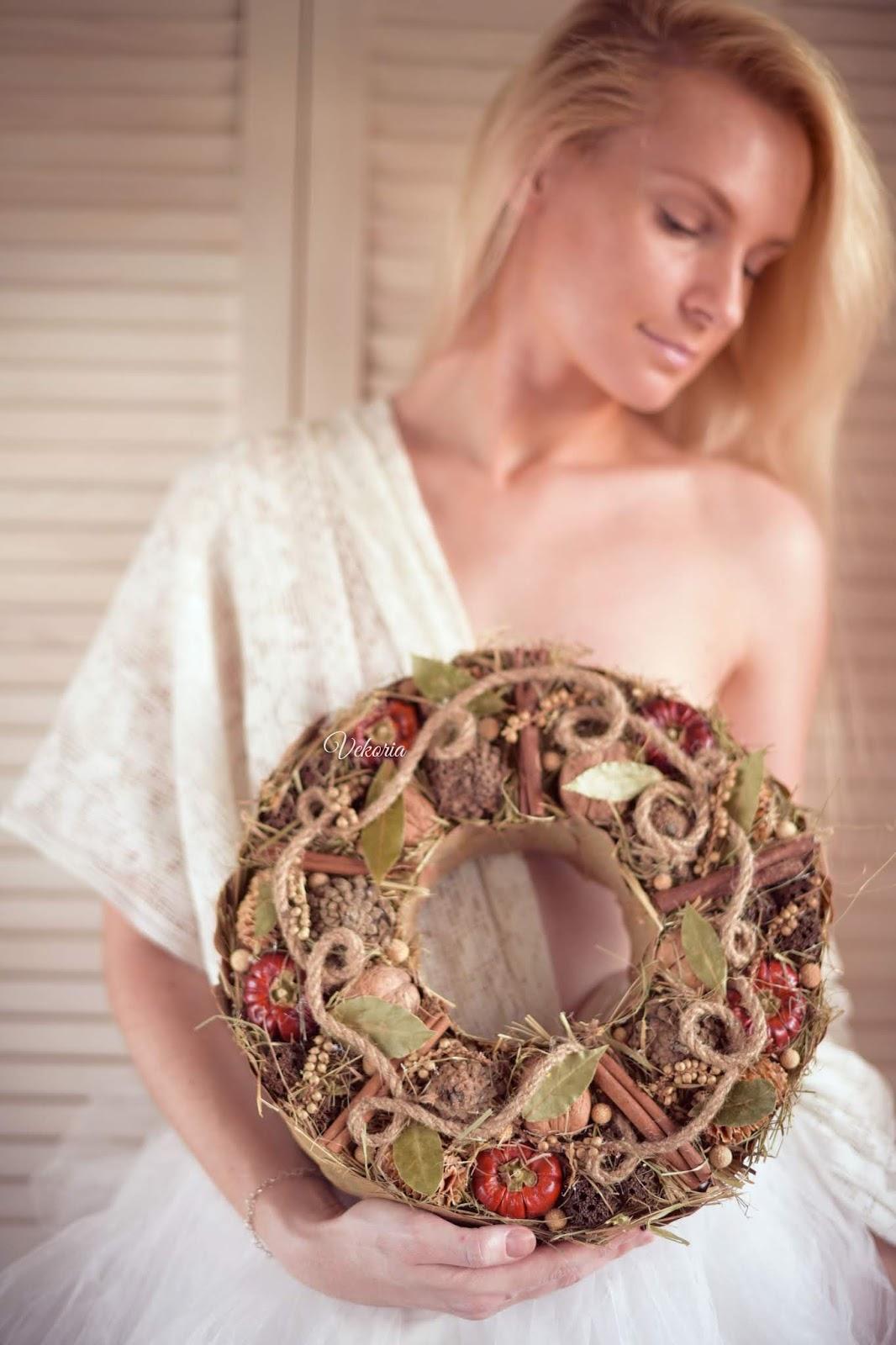buy wreath front door / купить венок входная дверь