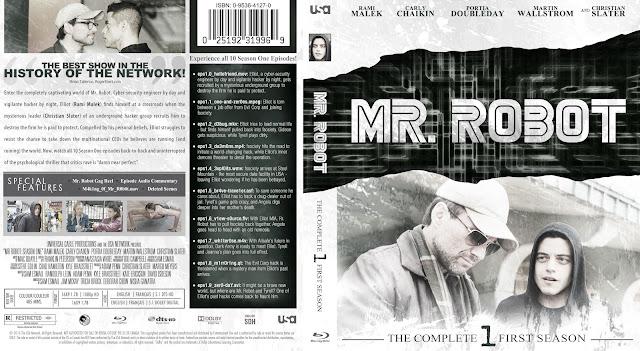 Capa Bluray Mr Robot Primeira Temporada Completa