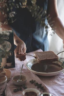 Receta Tostadas Francesas Saludables-kidsandchic