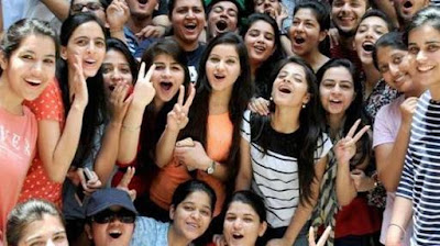 CBSE Class 10 results ; Four students got 1st rank with 499 marks ;  3 girls and one boy