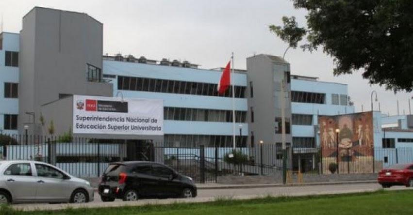 SUNEDU iniciará procesos sancionadores a universidades con carreras no autorizadas - www.sunedu.gob.pe