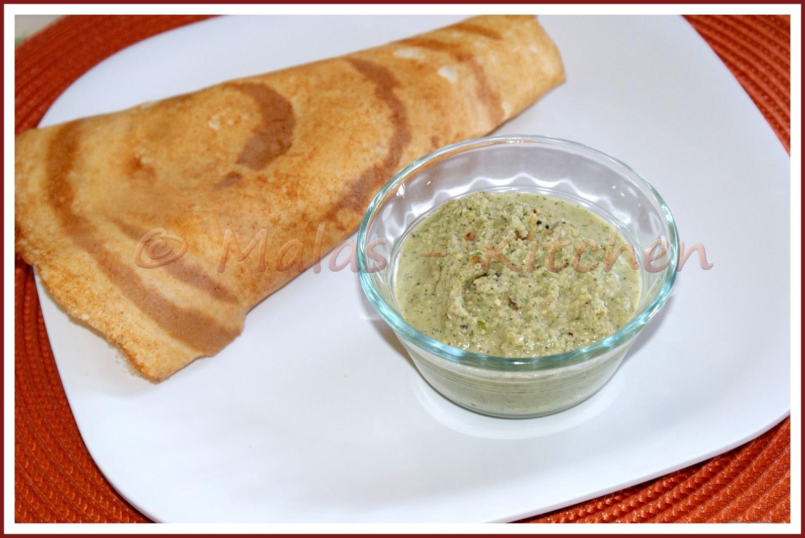 Plain Dosa Or Paper Dosa - Malas-Kitchen