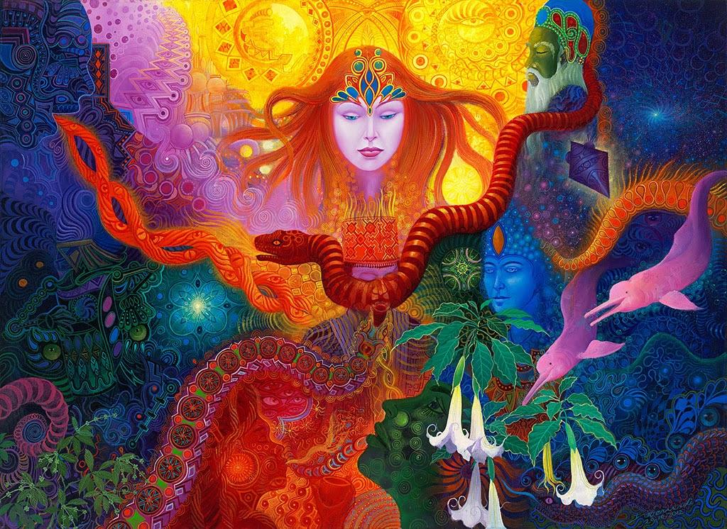 Ayahuasca-Inspired Art by Anderson Debernardi