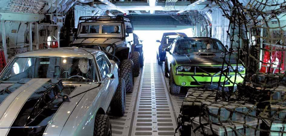 Fast And Furious Making Of Skydiving Cars Teaser Trailer - Behind the scenes fast and furious 7 stunts