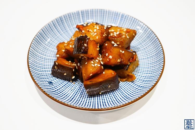 Le Chameau Bleu - Blog de Cuisine et Voyage - Recette des aubergines sautées à la japonaise
