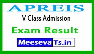 APREIS V Class Admission Test Results 2017
