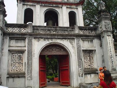 Pagoda Lago Hoan Kiem, Hanoi, Vietnam