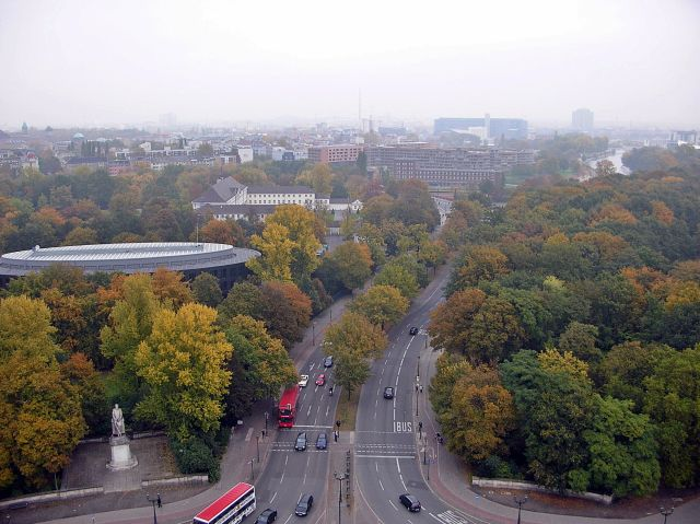 parki Berlina, pomniki, drogi, ulice
